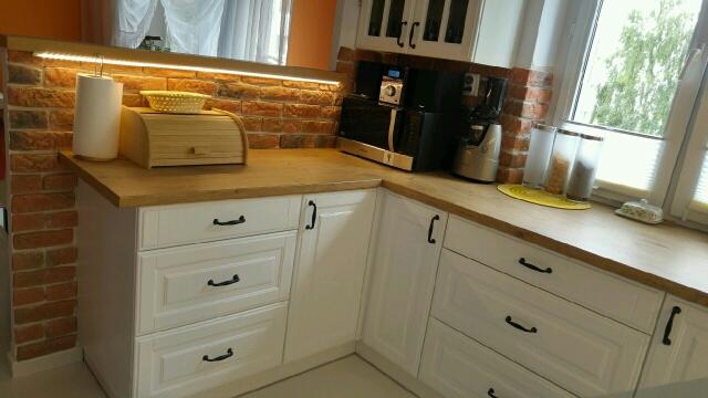kuchnia biały mat