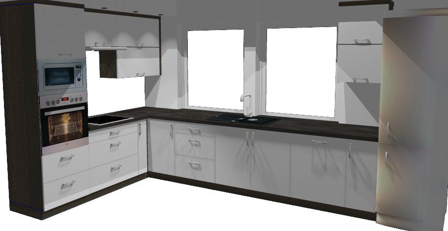projekt kuchni lakier