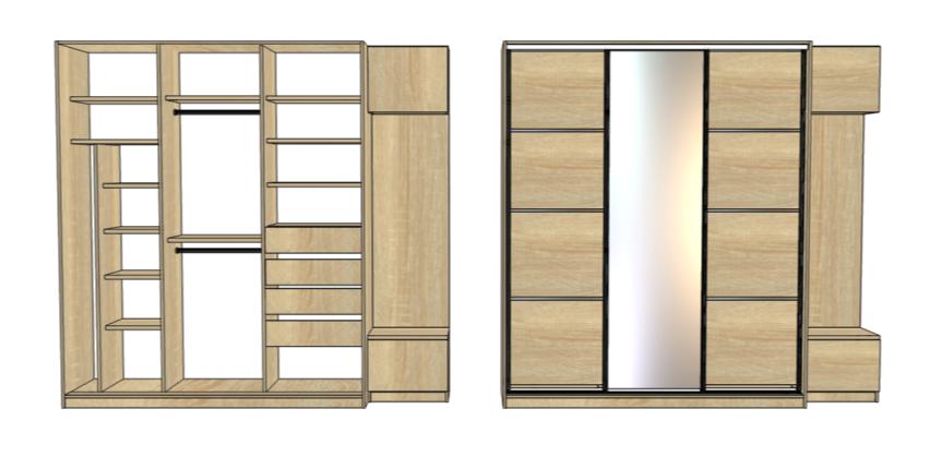 projekt szafy